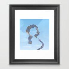 RIBBONS Framed Art Print