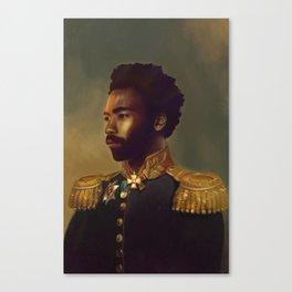 Sir Gambino Canvas Print