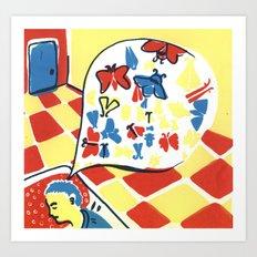 Mottephobia2 Art Print
