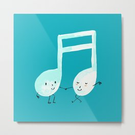 Our Song Metal Print