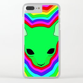 """Hypnosphynx"", by Brock Springstead Clear iPhone Case"