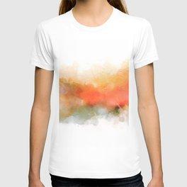 Soft Marigold Pastel Abstract T-shirt