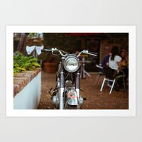 moto Art Prints featuring Moto by Davin Fitch