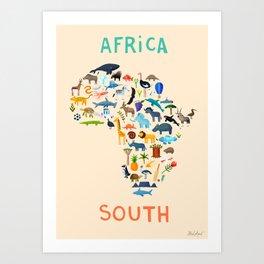 Africa South Art Print