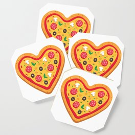 Pizza Love Coaster