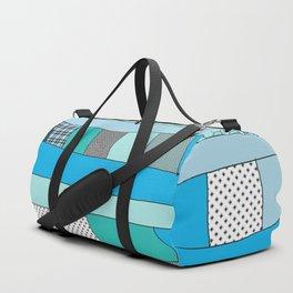Turqoise noise Duffle Bag
