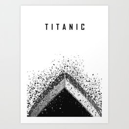 Minimalist Movie poster Art Print