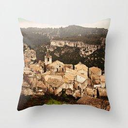 Les Baux de Provence Throw Pillow
