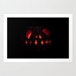 pumpkin bad Art Print