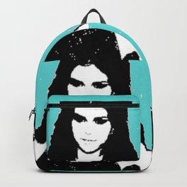 Ms Gomez blue pop art Backpack