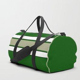 TEAM COLORS 2...GREEN,TAN Duffle Bag