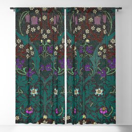 Blackthorn - William Morris Blackout Curtain