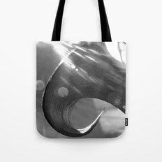 Bending Lily Tote Bag