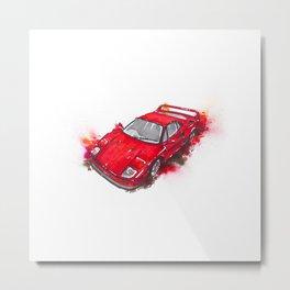 The legendary Ferrari F40 Metal Print