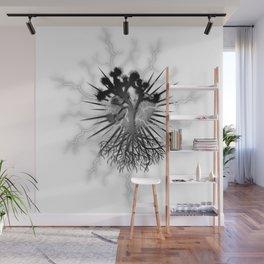 Joshua Tree Lightning by CREYES Wall Mural