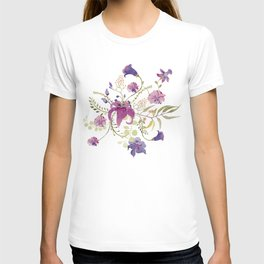 Floral tenderness T-shirt