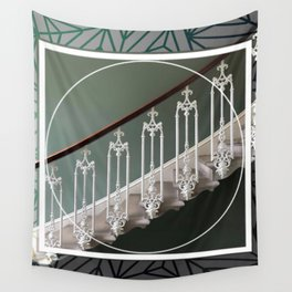 Stairway to Heaven - graphic design Wall Tapestry