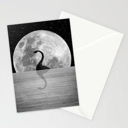 Nessie Starry Night II - Loch Ness Monster Stationery Cards