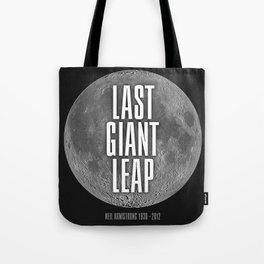 Last Giant Leap Tote Bag