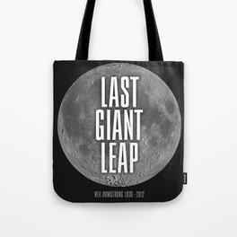Last Giant Leap Tote Bag
