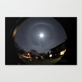 Winter Halo Canvas Print