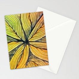 Doodled Aura-Leah Digitized Macro Stationery Cards