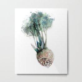 Celery Root Metal Print