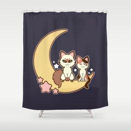 My Luna Kei - Moonlight Shower Curtain