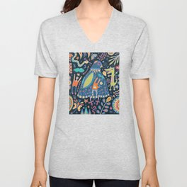 Bird Talk Unisex V-Neck