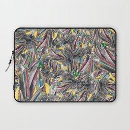 Rainbow Metallic Crystals Laptop Sleeve