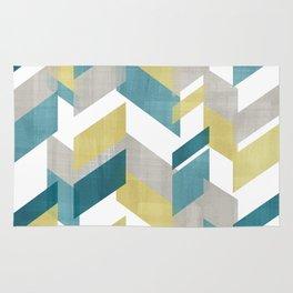 Bright geometrical pattern Rug