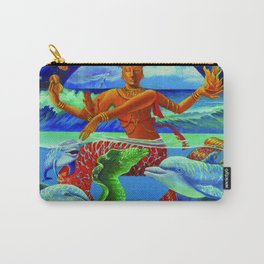 Tropical Nataraja Carry-All Pouch