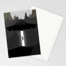 Alien Invasion Stationery Cards