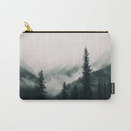 Over the Mountains and trough the Woods -  Forest Nature Photography Carry-All Pouch