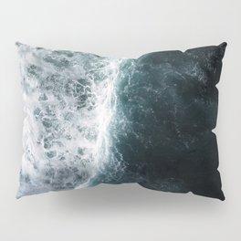 Oceanscape - White and Blue Pillow Sham