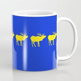 Graphic Swedish Elk Flag III Coffee Mug