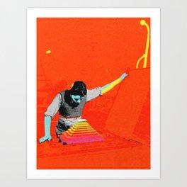 colorful secret II Art Print