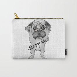 Surrender dog Carry-All Pouch