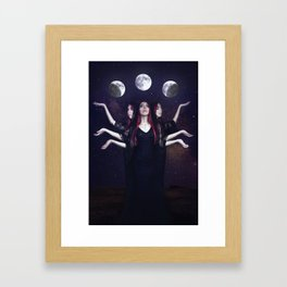 """Hecate"" Framed Art Print"