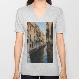 Venice, Italy Unisex V-Neck