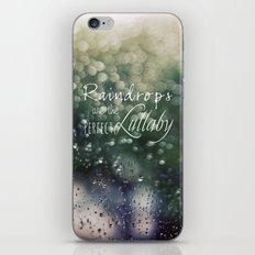 Summer Rain 2 iPhone & iPod Skin