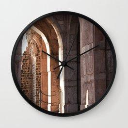 Palace Pillars Wall Clock