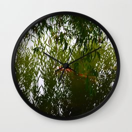 Willow Coi Wall Clock