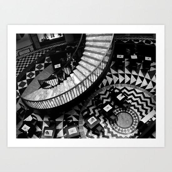 Vortex (Berlin) Art Print