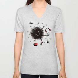 Relax And Rest Lazy Creature Unisex V-Neck