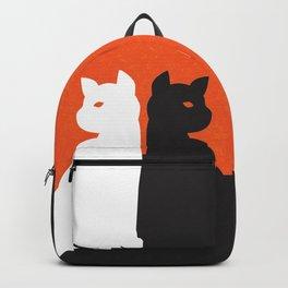Cat in De Stijl - Halloween Edition Backpack