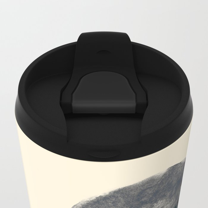 Seal Of Approval Metal Travel Mug