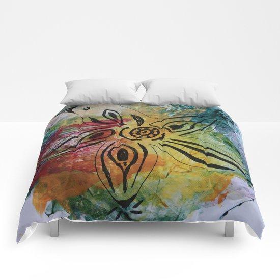 Bird Flower - JUSTART © Comforters