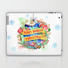 Merry Bookish Christmas Laptop & iPad Skin