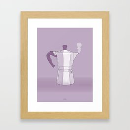 Coffee Maker Series - Moka Framed Art Print